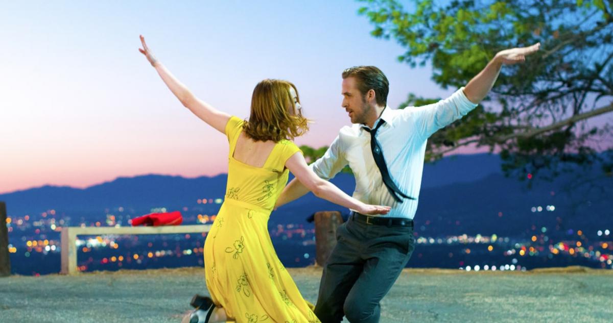 La La Land med Ryan Gosling och Emma Stone